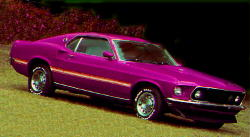 the 69 Mustang Mach 1